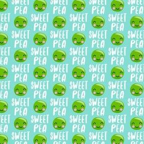 """(3/4"""" scale) Sweet Pea - teal - Cute Food - LAD19BS"""