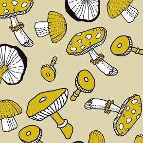 Yellow's Mushroom