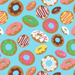 Donut Toss Blue