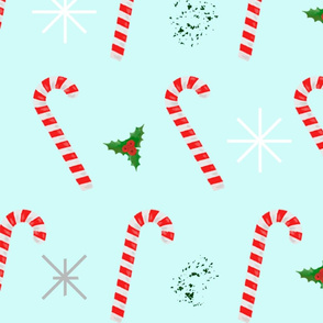 new year candy canes