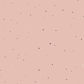 Speckled Clay // Pale Blush Pink Peach