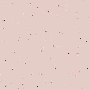 Speckled Clay // Peach Blush Pink