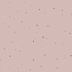 Speckled Clay // Sepia Rose Pink