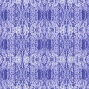 Purple Feather Damask