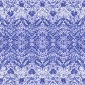 Indigo Feathered Lace