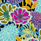 Jewel-Tone Floral