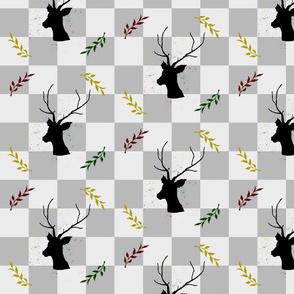 new year deer