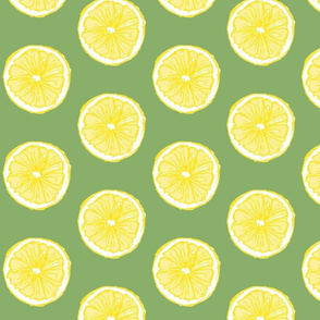 Hand-drawn Pop Art Lemons