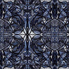37_Navy_Small_Mirror