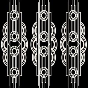 METRO STRIPE (BLACK)
