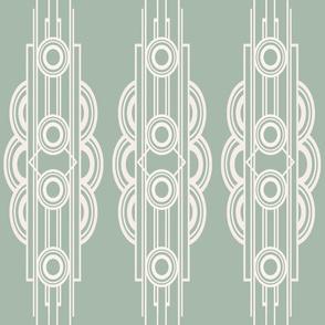 METRO STRIPE (GREEN)