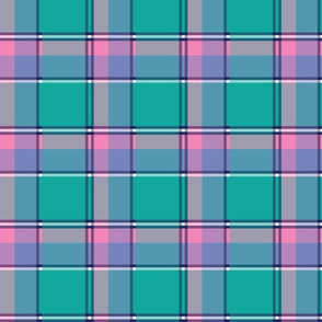 Easter Rabbit Plaid