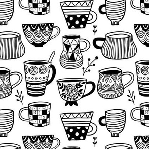 Tea Mugs and coffee cups
