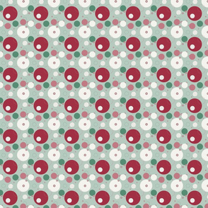 Multi-colour Random Dots Pattern