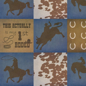 Rodeo Baby Patchwork 7 Inch