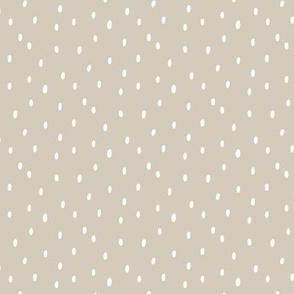 Spots - beige