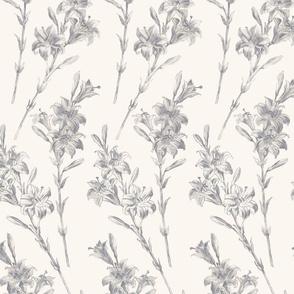 Lillies- Ivory