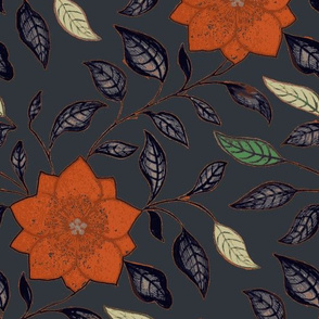 Asian Flower Slate