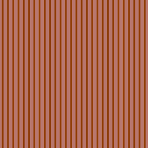 Cabana Stripe  Rose Terra Cotta