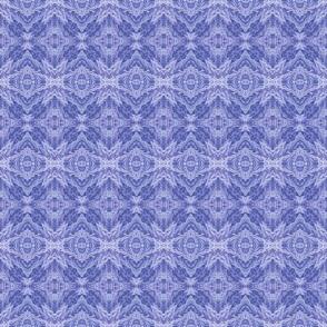 Dark Purple Feather Damask Diamonds