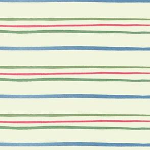 August Garden Stripe skinny repeat