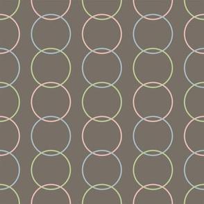 Vertical Circles Dark for Sleepy Zoo Friends