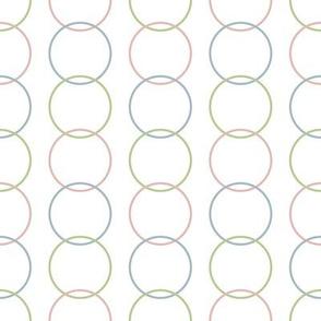 Vertical Circles Light for Sleepy Zoo Friends