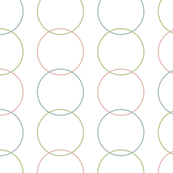 Vertical Circles Light