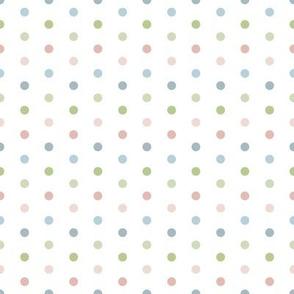Polka Dots for Sleepy Zoo Friends
