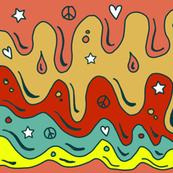 psychedelic rain