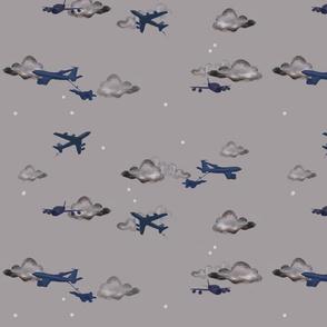 Kc-135 blue / grey