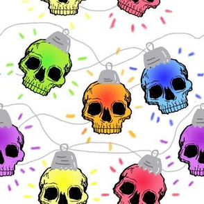 Skull Christmas Lights