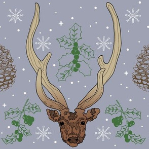Winter Deers