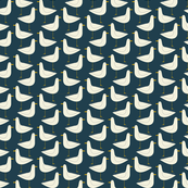 Seagull - Nautical Navy
