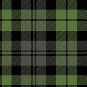 "Campbell tartan, 12""  weathered"