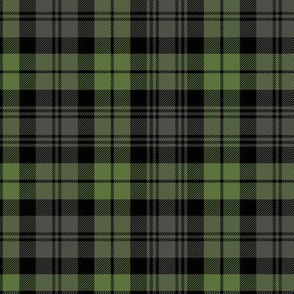 "Campbell tartan, 6"" weathered"