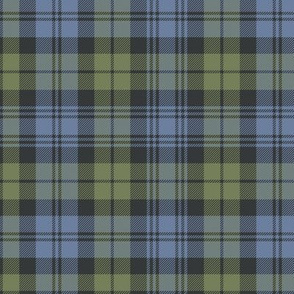 "Campbell tartan, 6"" faded custom"