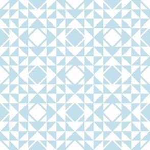 Geometric blue_105