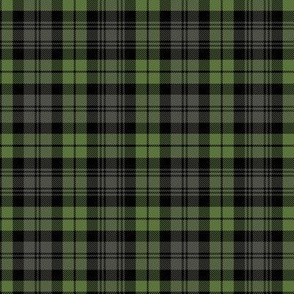 "Campbell tartan, 4"" weathered"