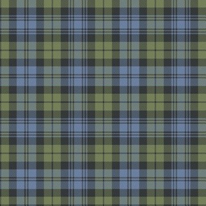"Campbell tartan, 4"" faded custom"