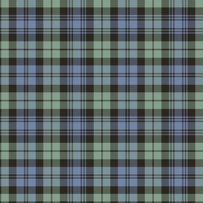 "Campbell tartan, 4"" very faded"