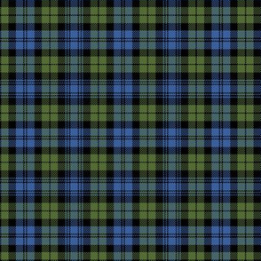"Campbell tartan, 3""  muted bright"