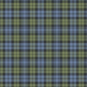 "Campbell tartan, 3"" faded custom"