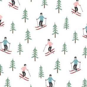Skis and Trees