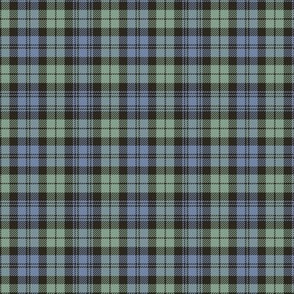 "Campbell tartan, 3"" very faded"