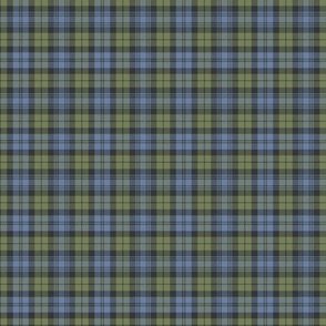 "Campbell tartan, 2"" faded custom"