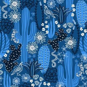 Sonoran Landscape (Classic Blue)