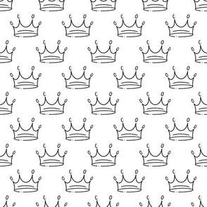 Queen crown pattern