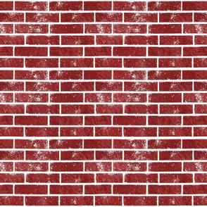 Red Bricks (Small Print Size)