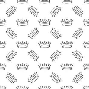 King crown pattern in dynamic